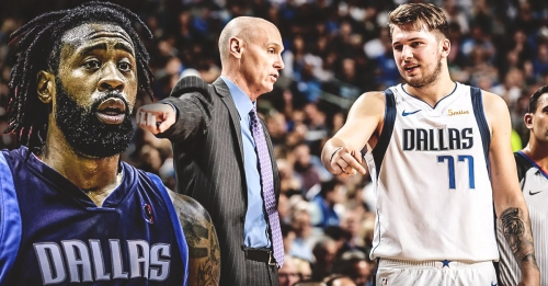 Mavs coach Rick Carlisle says DeAndre Jordan stealing rebound from Luka Doncic has been addressed internally