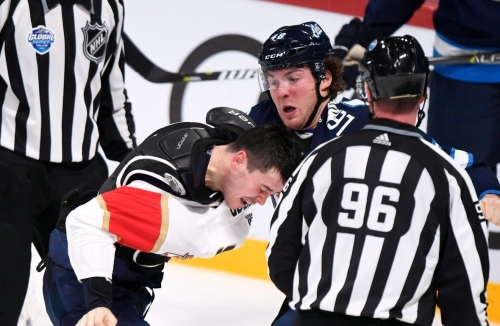 Jets' Lemieux suspended 2 games for illegal check to the head