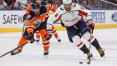 NHL Live Tracker: Oilers vs. Capitals
