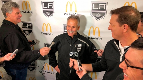 L.A. Kings new coach Desjardins stresses need to 'win now'