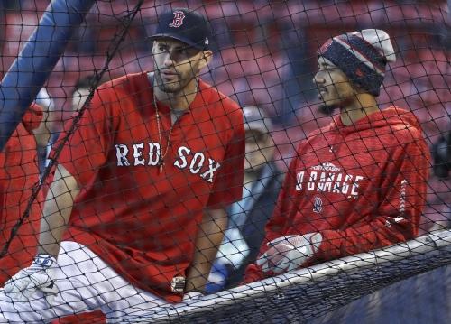 Boston Red Sox star Mookie Betts an AL MVP finalist but J.D. Martinez isn't; Chris Sale not among AL Cy Young finalists