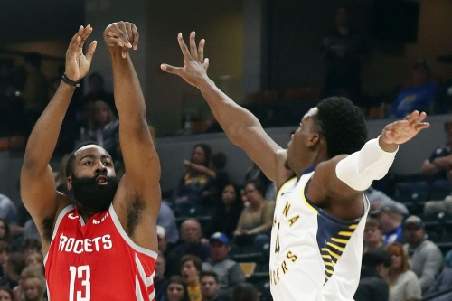 Rockets sneak past Pacers for third straight win