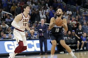 Fournier's buzzer beater lifts Magic over Cavs 102-100