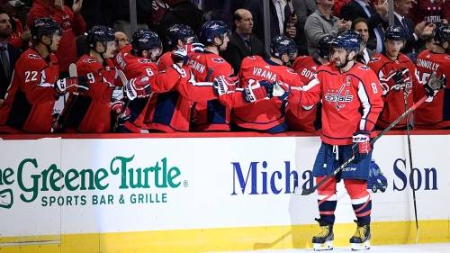 Ovechkin's goal helps Capitals beat Oilers to snap 2-game skid