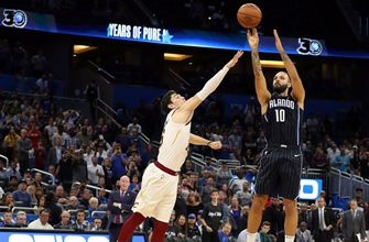 Fournier hits game-winner lifting Magic over Cavaliers 102-100