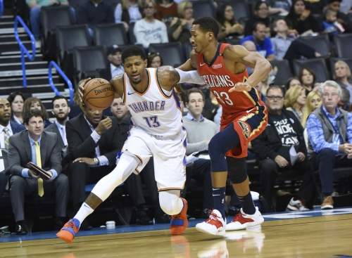 Pelicans falter late, lose sixth straight in 122-116 loss to Thunder
