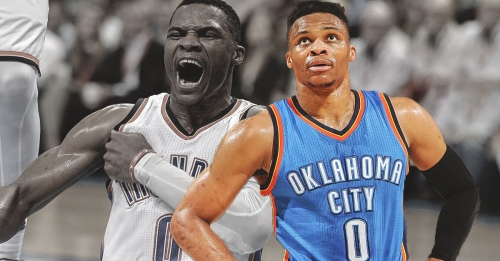 Thunder news: Oklahoma City announces that Russell Westbrook has a left ankle sprain after scary injury