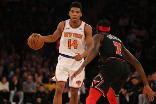 Knicks: 115, Bulls 116: Scenes from the first time Clyde ever saw Mudiay make two consecutive baskets