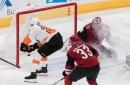 Flyers snap Coyotes' five-game winning streak