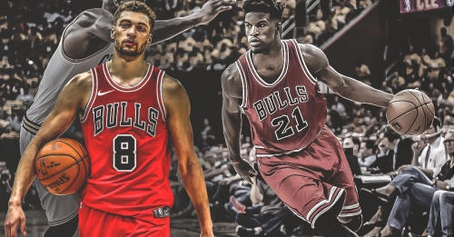 Zach LaVine becomes first Bulls player to score 40 since Jimmy Butler in January 2017