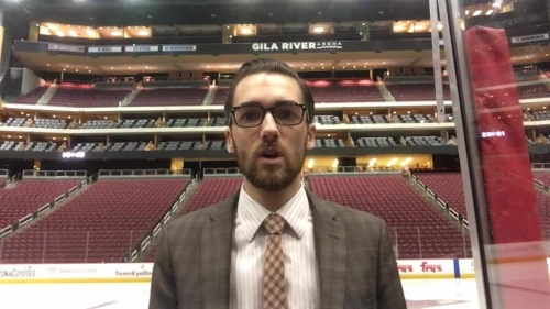 Morin's plus-minus from Coyotes' loss to Flyers