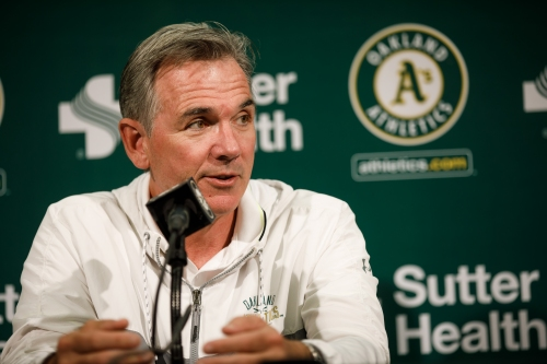 A's Beane named MLB Executive of the Year
