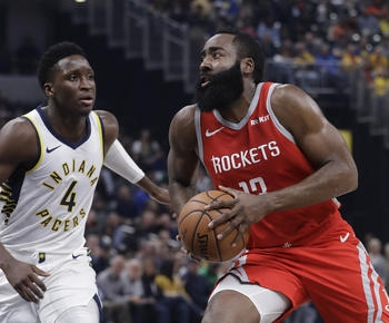 NBA roundup: James Harden scores 28, hits tiebreaking 3 as Rockets edge Pacers
