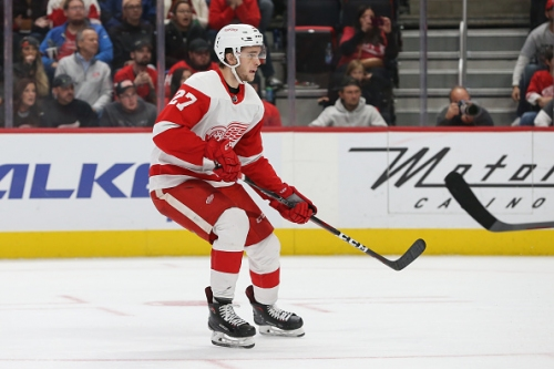 Michael Rasmussen Showing Confidence for Detroit Red Wings