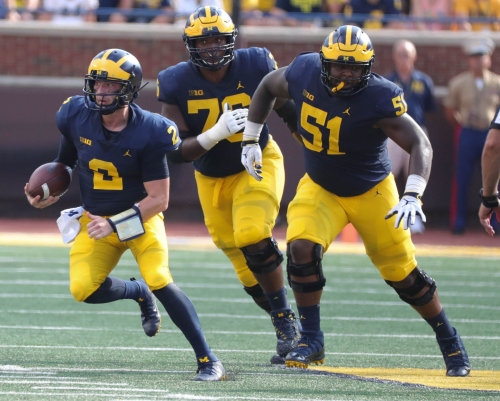 How Michigan football's offensive line has changed this team's season