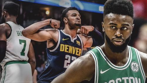 Celtics' Jaylen Brown isn't losing sleep over Nuggets guard Jamal Murray's disrespect