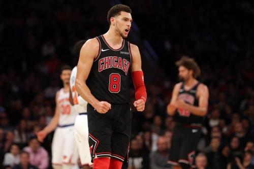 Bulls vs. Knicks highlights: Zach LaVine's career high masking the bad team around him