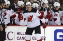 Devils, former Lightning forward Brian Boyle registers hat trick on Hockey Fights Cancer night
