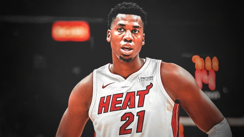 Heat center Hassan Whiteside's MRI results on knee come back negative