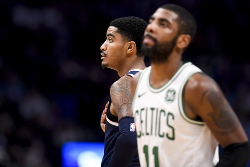 Celtics' Kyrie Irving fined $25,000 for heaving ball into Pepsi Center crowd after Nuggets game
