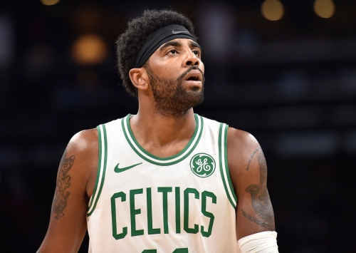 Kyrie Irving fined for throwing ball into stands after Jamal Murray shot