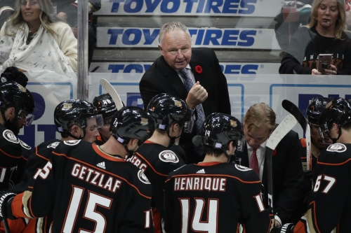 Ducks' Randy Carlyle worried about improved play rather than his coaching future