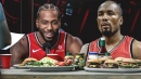 Raptors' Serge Ibaka wants to have Kawhi Leonard on food show so fans can see different side of him