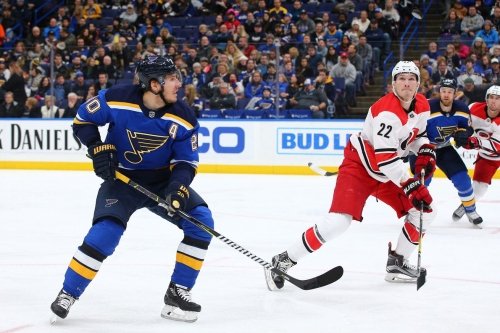 Hurricanes at Blues GameDay Thread