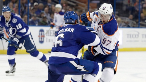 NHL Live Tracker: Oilers vs Lightning