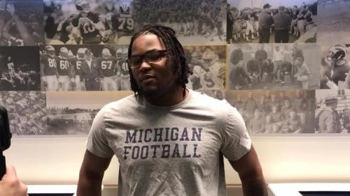 Michigan football's Rashan Gary, on how he handles the haters