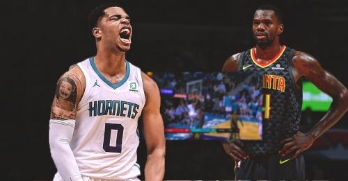 Video: Hornets rookie Miles Bridges puts Dewayne Dedmon on a poster with sick dunk