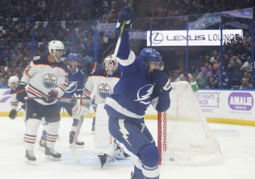 Intermission update: Tampa Bay Lightning vs. Edmonton Oilers