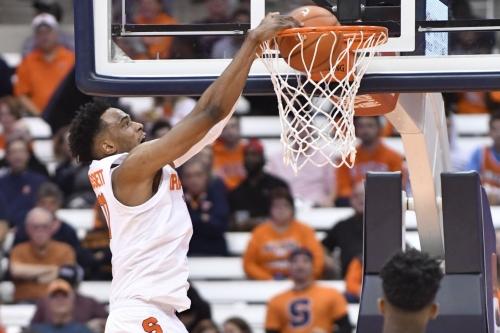 Syracuse 66, Eastern Washington 34 : Orange begin season with a win