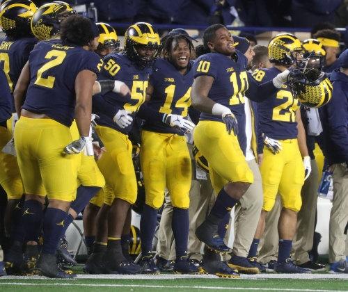 Michigan football 4th in College Football Playoff rankings; MSU 18th