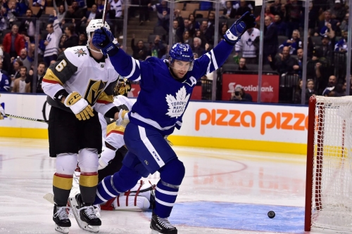 Leafs find winning formula at home against Knights