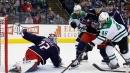 Sergei Bobrovsky stands tall as Blue Jackets beat Stars
