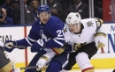 Andersen helps Leafs steal win over Golden Knights