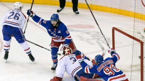 Pionk, Zibanejad rally Rangers to win over Canadiens