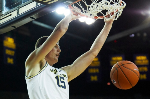 Michigan basketball's Jon Teske is not your ordinary plodding center