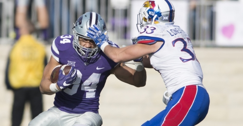 K-State football looks ahead to Saturday's Sunflower Showdown