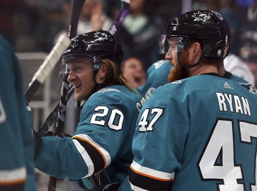 Marcus Sorensen's career night helps Sharks beat Wild