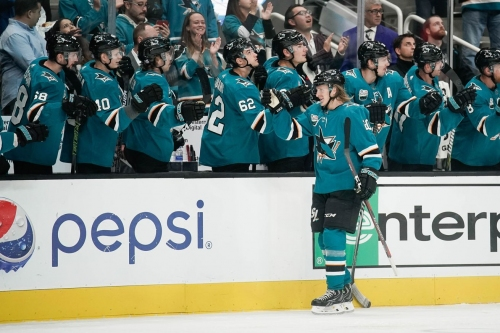 Marcus Sorensen has himself a night, leads Sharks over Wild 4-3