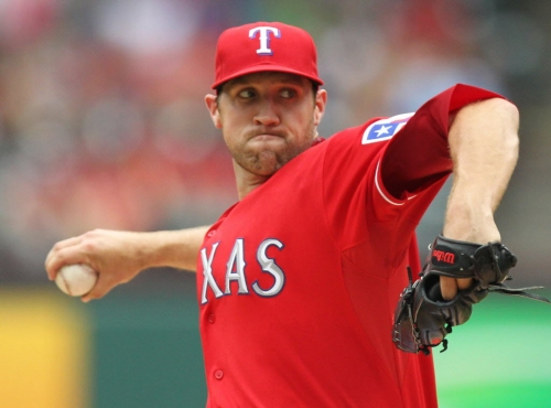 Traded for Michael Young, former Ranger Lindblom top pitcher in Korea
