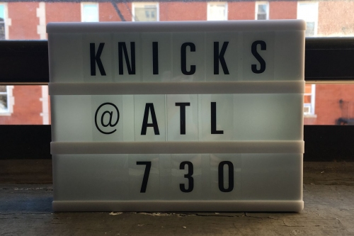 Game Preview: Knicks at Hawks - 11/07/18