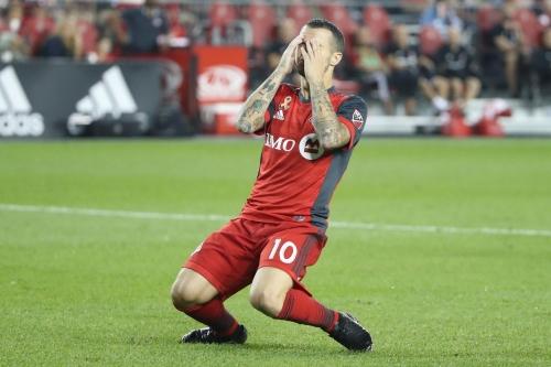 Sebastian Giovinco's days as a striker may be over