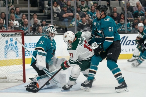 3 things we learned from the Wild's comeback falling short in San Jose