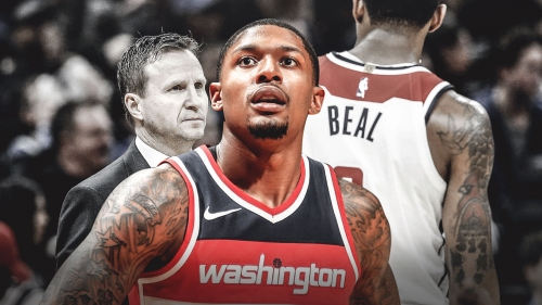 Bradley Beal says it's hard to ignore Scott Brooks' job security questions