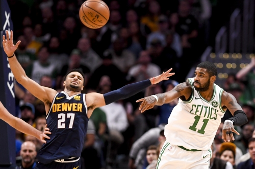 """Nuggets' Jamal Murray: Celtics' Kyrie Irving """"overreacted"""" following career-high 48-point night"""