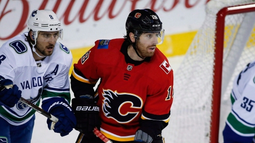 Why limited opportunity has Flames' James Neal off to terrible start