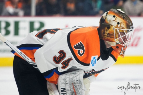 Alex Lyon, Tyrell Goulbourne loaned to Lehigh Valley
